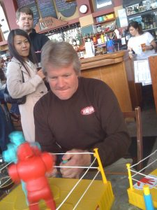 Dick Cantwell - world-renowned brewer and vintage toy aficionado.