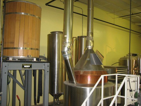 Bert Grant's original brew kettle started off this whole craft beer thing in 1982.
