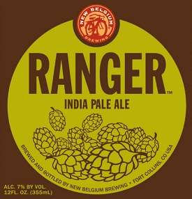new belgium ranger IPA label
