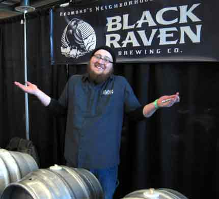 Washington Cask Beer Festival, Black Raven Brewing