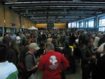Washington Cask Beer Festival crowd