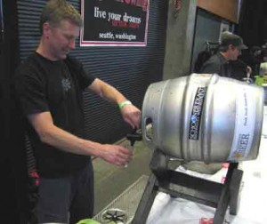 Matt McClung of Schooner Exact at Cask Fest 2009.