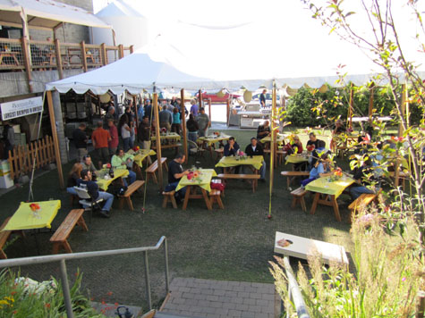 Boundary Bay Brewery Welcomes Wabl For A Great Party In The Garden Washington Beer Blog