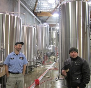 Don Spencer and Kurt Larson - Silver City Brewery in Bremerton