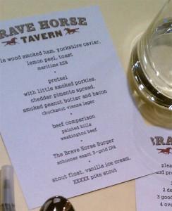 brave-horse-menu