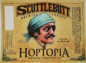 Unofficially, the Hoptopia label. Still pending final approval.