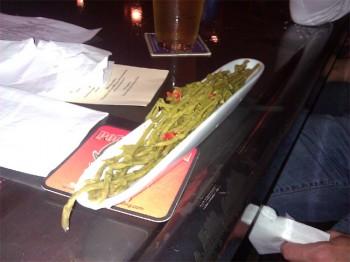 pickled hop shoots