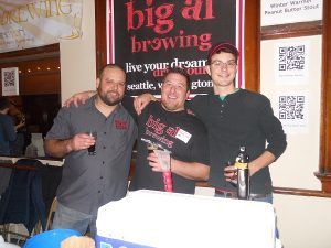 The crew from Big Al Brewing.