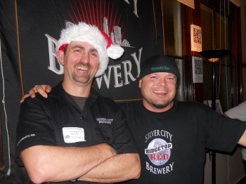 Don Spencer and Kurt Larsen of Silver City Brewing.