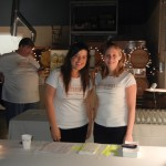 BitterSweet volunteers Chelsea Asplund and Sarah Heath