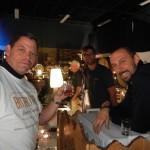 Volunteer Tom Burns with Joel VandenBrink from Two Beers