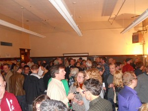the crowd at pna winter beer taste