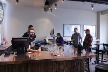New bar at Beer Junction