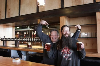 Todd Carden (Owner) and Bill Jenkins (Hop Wizard).
