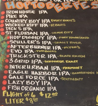 Hoptoberfest 2012 - the opening day lineup.