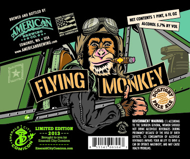 The main Flying Monkey label.