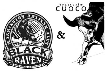 black raven brewing tom douglas restaurants beer dinner at cuoco