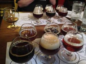 hardliver barleywine festival at brouwer's cafe