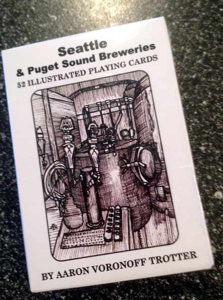 seattle and puget sound area brewery playing cards