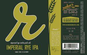 reuben's brews imperial rye ipa