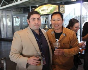 Steve Domingues and Manny Chao.
