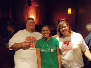 Kim and Kendall with Lindsey of Washington Wild, beneficiary of Craft Beer+Food 2014