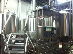 The new brewhouse.