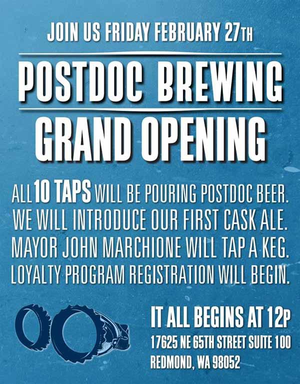 Postdoc brewing