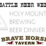 holy mountain beer dinner