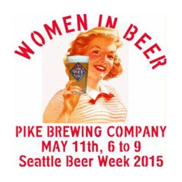pike women in beer