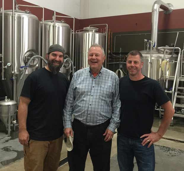 Redhook founder Paul Shipman pays a visit to Sumerian Brewing.