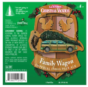 beer release christmas vacation series fish brewing - National Lampoons Christmas Vacation Trivia