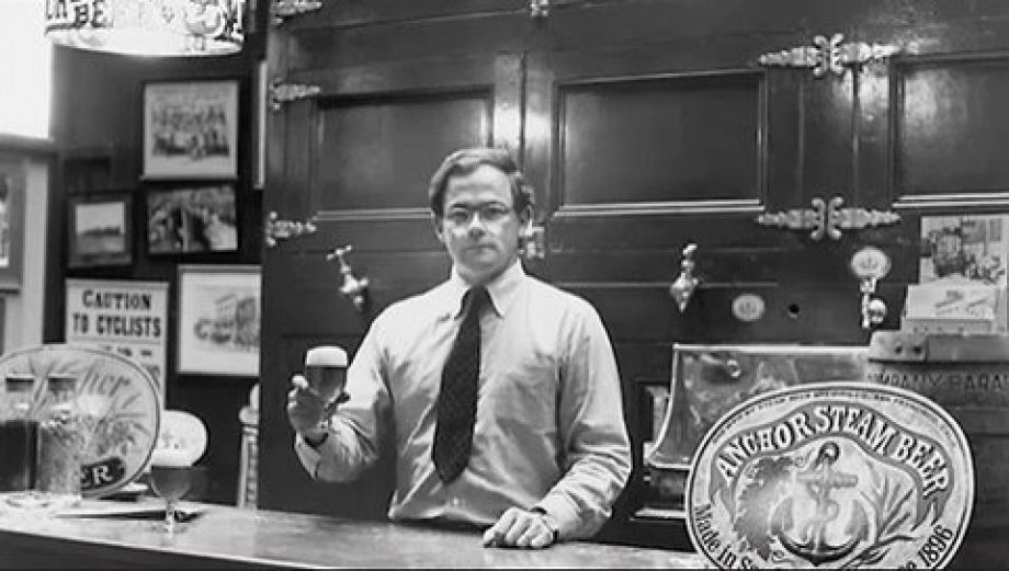 Fritz Maytag, 1965. Courtesy Anchor Brewing.