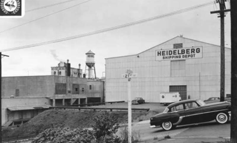 The Heidelberg Brewery closed in 1979 after operating for nearly 75 years in Tacoma. Photo: Courtesy of the Tacoma Public Library Northwest Room