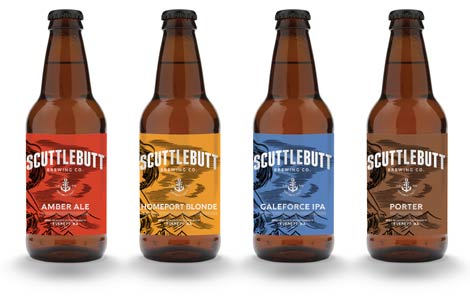 Scuttlebutt Brewing Introduces New Packaging Washington