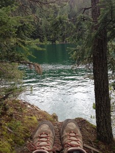 Hiking around Mountain Lake on Orcas Island