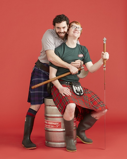 One more photo, for good measure. Because kilts.
