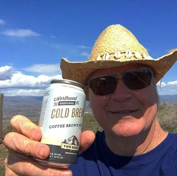 I #DrinkWABeer because after hiking to the top of Snow Mountain near Yakima I deserve it.