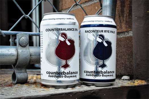 Counterbalance-cans