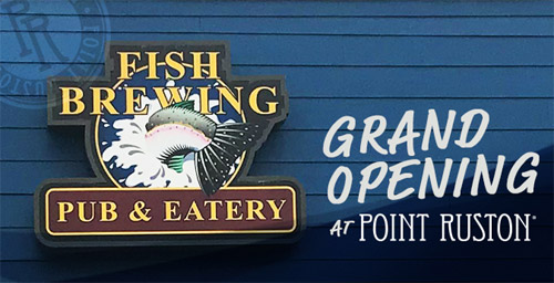 Fish Brewing Opening New Pub In Tacoma Next Week