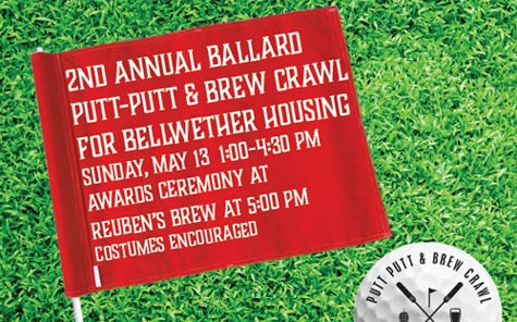2nd Annual Ballard Putt Brewery Crawl Sunday May 13