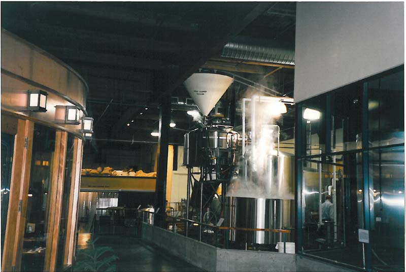 Hale's current brewing system.