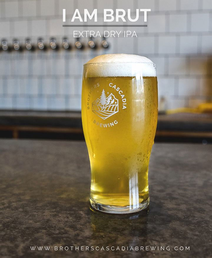 I Am Brut IPA, from Brothers Cascadia Brewing. Image courtesy Facebook.