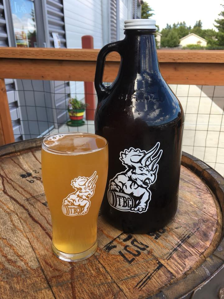 Belloq Brut IPA from Triceratops Brewing. Image from Facebook.