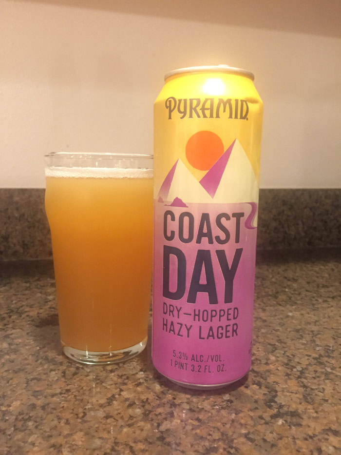 In July 2018, Pyramid Brewing introduced its Hazy Lager.