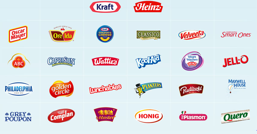 The Kraft-Heinz family. Imagine the possibilities.