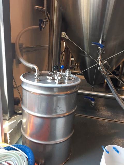 icicle brewing co2 capturing system