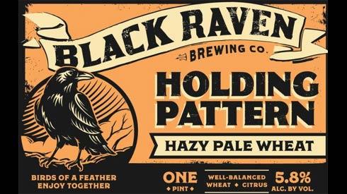 black-raven-holding-pattern