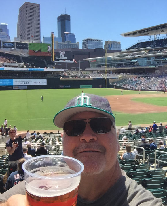 A Mariners fan in a strange land, Minnesota.