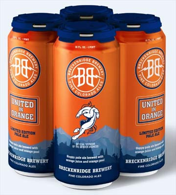 """breckenridge-orange """"width ="""" 360 """"height ="""" 400 """"srcset ="""" http://www.washingtonbeerblog.com/wp-content/uploads/2019/09/breckenridge-orange.jpg 360w, http: // www. washingtonbeerblog.com/wp-content/uploads/2019/09/breckenridge-orange-270x300.jpg 270w """"="""" (largeur maximale: 360px) 100vw, 360px """"/></p> <p><strong>Breckenridge Brewery et les Broncos de Denver<br /></strong>United in Orange Pale Ale<br />Oh Hourra! Celui-ci est brassé avec du jus d'orange et du zeste d'orange. Il a été introduit en 2016, quelques années à peine après que les Seahawks aient humilié les Broncos dans le Super Bowl XLVIII. En tant que fan des Seahawks de la vieille école, je déteste les Broncos presque autant que je déteste le chaud Bud Light. J'aurais nommé celui-ci <em>43-8 Ale orange pâle écrasée et humiliée</em>.</p> <p><img class="""